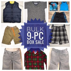 LOT 9-pc Clothes Bundle - Boys 2/2T - LOT0663